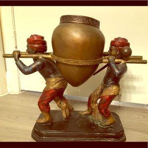 Beautiful bronze is very heavy